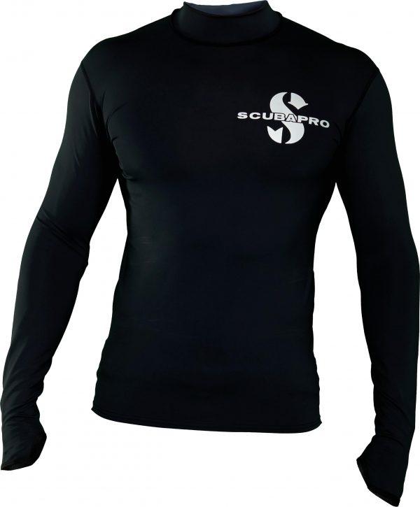 SCUBAPRO - BLACK RG LS MEN UPF 50