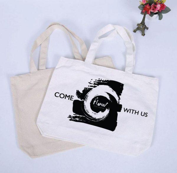 Flow Canvas Bag